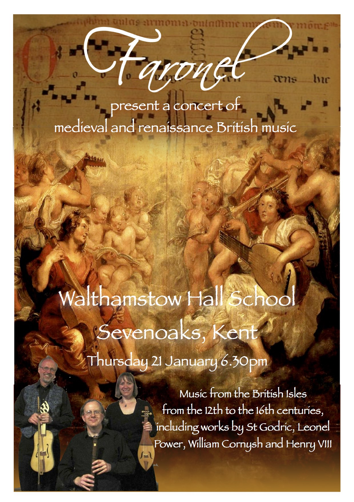 Walthamstow Hall Poster